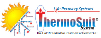 Heatstoke and Life Recovery Systems Thermo Suit