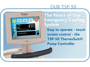 TSP-50 - easy to operate - touch screen control - ThermoSuit� Pump Controller